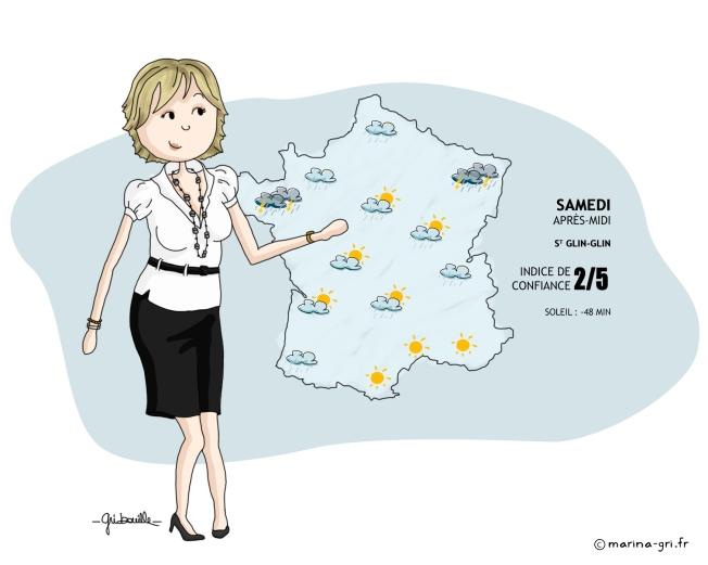 Evelyne Dhéliat - Météo TF1