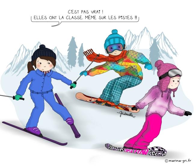 Fashion ski