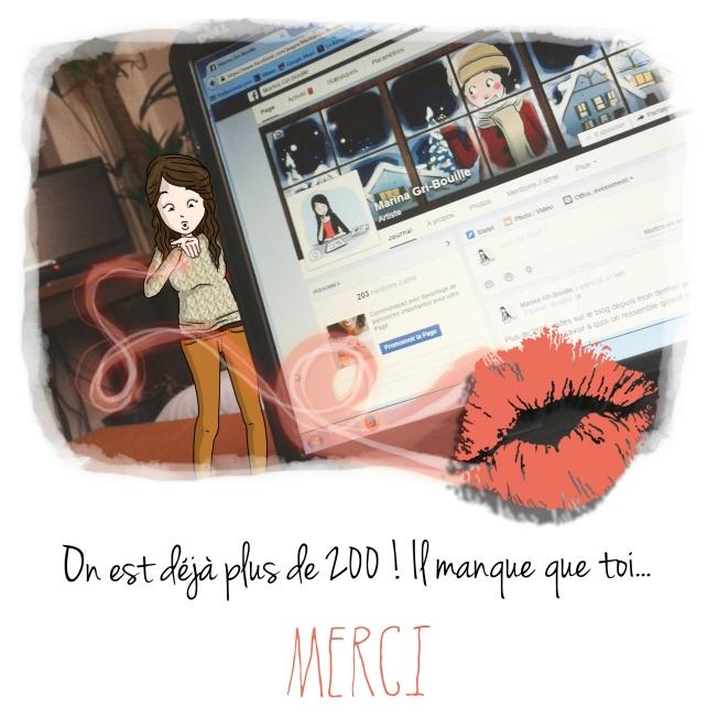 200 fans - Marina Gri-bouille