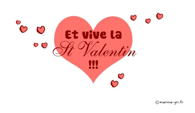 Vive la Saint Valentin - Marina Gri-Bouille