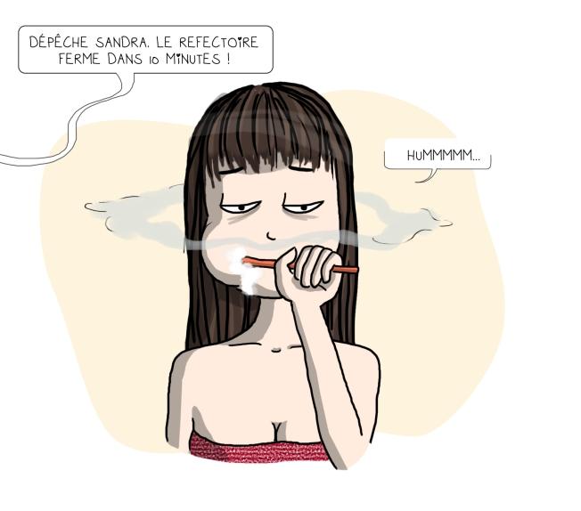 Sandra Lapouasse - Illustration brosse à dent salle de bain
