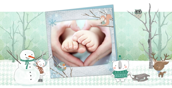 Illustratrice petite enfance cartes postales