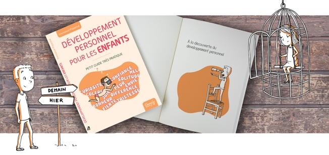 Illustration couverture livre développement pour enfant