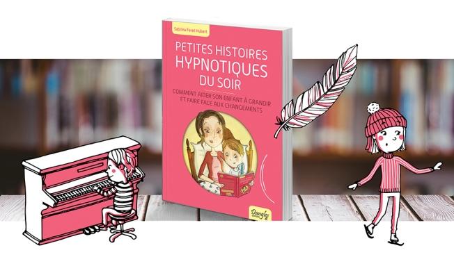 Illustration couverture livre histoire hypnotiques