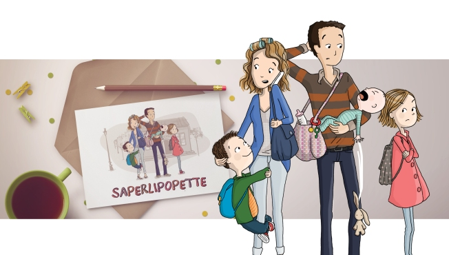 Association de Parents d'élèves - Saperlipopette - Marina Gri-Bouille Illustratrice