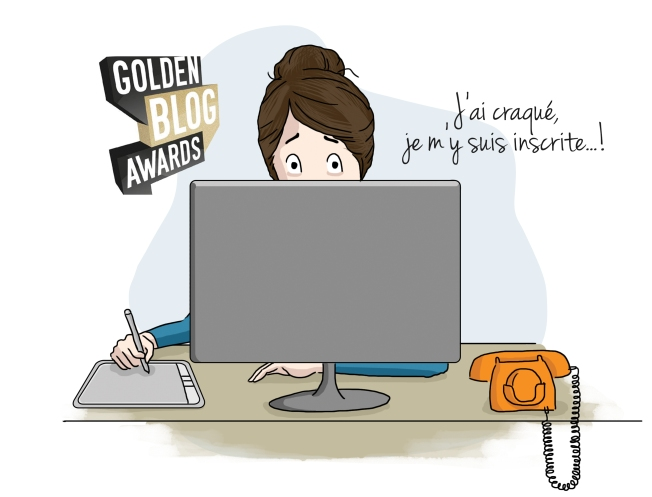 Golden Blog Awards - J'ai craqué