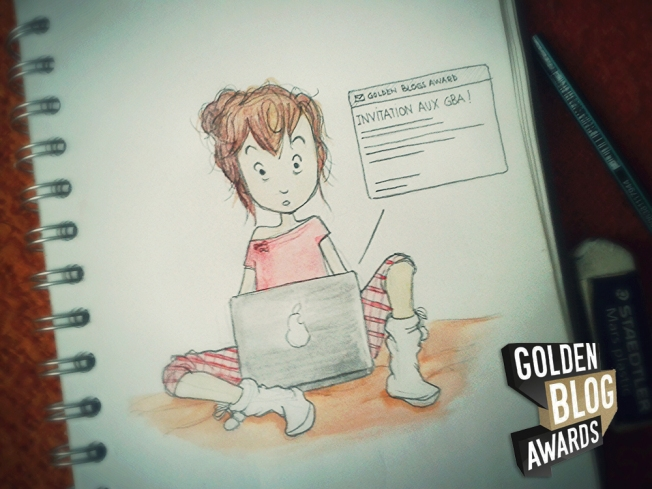 Golden Blog Awards - J'suis invité !