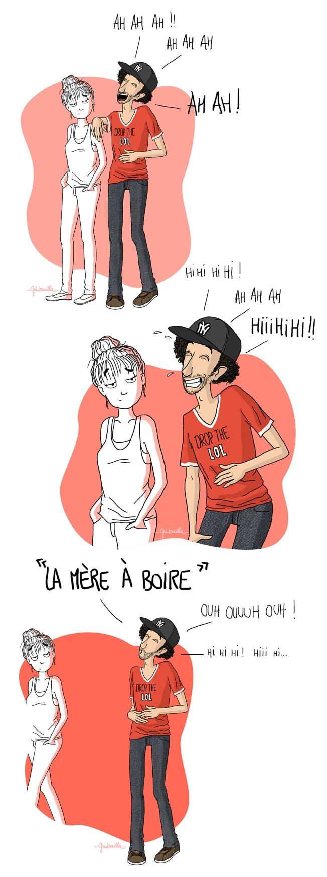 3- Arthur Lutte - illustration fou rire