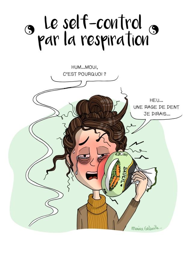RDV dentiste - Illustration Marina Gri-Bouille - Rage de dent